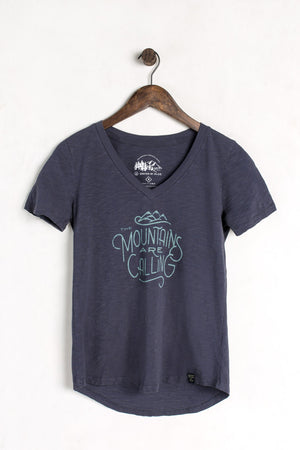 United By Blue Women's Mountains Are Calling Tee