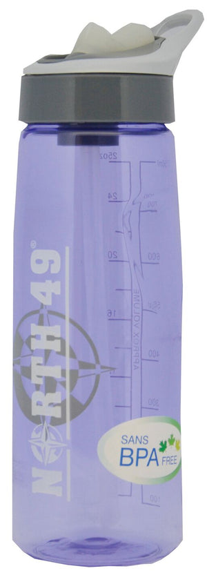 North 49 Tritan Polycarbonate Bottles 750 mL Grey