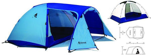Chinook Whirlwind 3 Person 3 Season Tent Aluminum