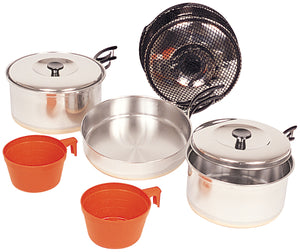 North 49 Stainless Steel Cookset Medium