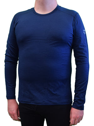 Icebreaker Men's Oasis Long Sleeve Crew base layer - Merino wool