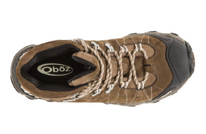 Oboz Bridger Mid BDry Hiking Boot, Womens, Walnut, 9.5