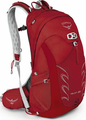 Osprey Talon 22 Day Pack, Martian Red, S/M
