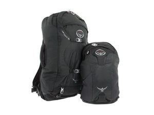 Osprey Farpoint 70 Travel and Trekking Backpack, Volcanic Grey M/L Torso