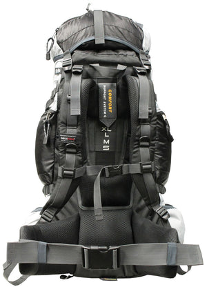 ObusForme Elite 75L Travel Backpack Black