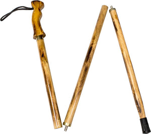 North 49 3-Piece Wood Walking Stick