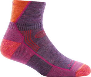 Darn Tough Womens Hiker 1/4 Cushion Socks