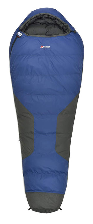 Chinook Polar Ice-22F/-30C Down Mummy Sleeping Bag