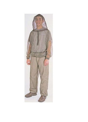 Bushline Outdoor Pullover Bug Jacket - Available in Many Sizes!