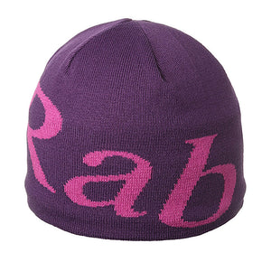 Rab Logo Beanie, One Size, -Soft, Warm, Internal fleece headband