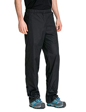 Trailside South Shore Rain Pants, Black, XL