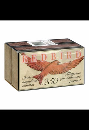 Redbird Matches, 2 packs of 250