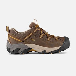 Keen Targhee II WP Low Wide M-Cascade Brown/Golden Yellow