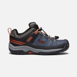 Keen Big Kids Targhee Low Waterproof Hiking Shoes