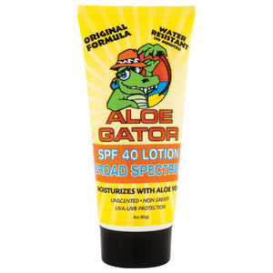 Aloe Gator SPF 40+ Gel sunscreen, broad spectrum, 3oz