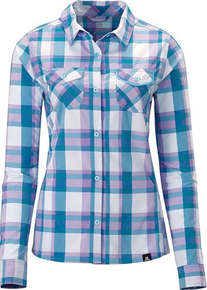 Salomon Equation LS Shirt, Women's Convertible Sleeve Travel Shirt
