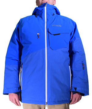 Columbia Titanium Mens First Tracks 860 TurboDown Waterproof Insulated Ski Jacket Medium