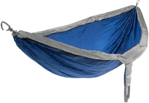 ENO National Park Foundation DoubleNest Hammock Sapphire/Grey