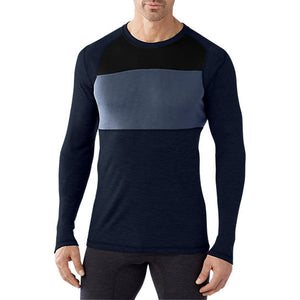 Smartwool NTS Mid 250 Color Block Crew, Mens Shirt