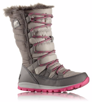 Sorel Youth Whitney Lace Waterproof Insulated Boots