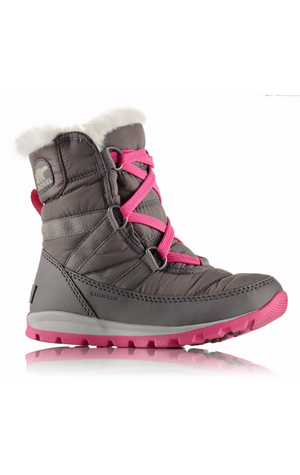 Sorel Children's Whitney Short Lace Waterproof Insulated Winter Boots Size 12