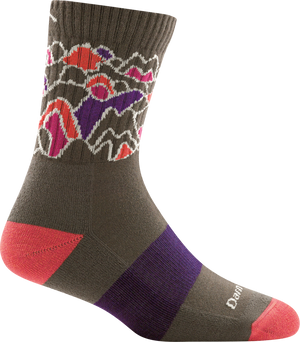 Darn Tough Women's Coolmax Zuni Micro Crew Cushion Socks