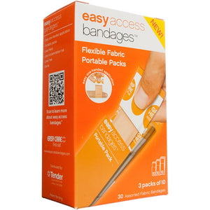 Tender Easy Access Bandages 90 Piece Variety Pack