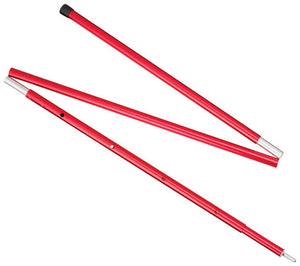 MSR 8 ft Adjustable Aluminum Pole - Red