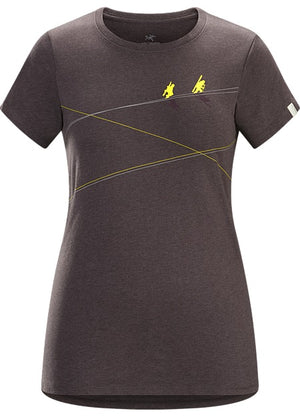 Arc'teryx Womens Up Slope Casual T-Shirts X-Small