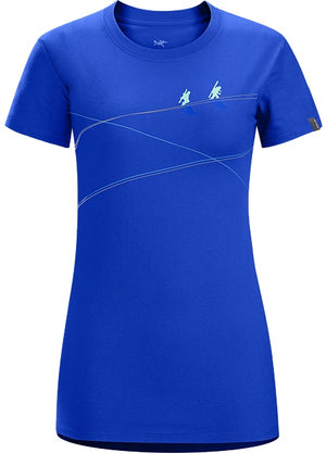 Arc'teryx Up slope T-Shirt, Womens, Short Sleeves