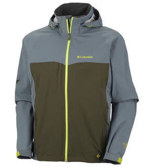 Columbia Mens Jet Stratus Rain Jacket - Waterproof/Breathable