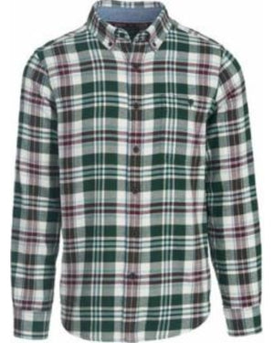 Woolrich Men's Trout Run Plaid Flannel Shirt