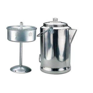 World Famous Aluminum Coffee Percolator 20 cup