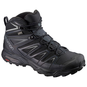 Salomon Mens X Ultra 3 MID WIDE GTX Waterproof Hiking Shoes Size 14
