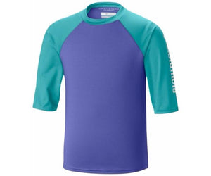 Columbia Kids Mini Breaker II Short Sleeve Sunguard Tops