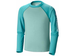 Columbia Youth Mini Breaker II Long Sleeve Sunguard Shirts