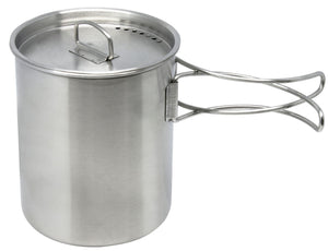 North 49 Stainless Steel Mug-Pot with Lid