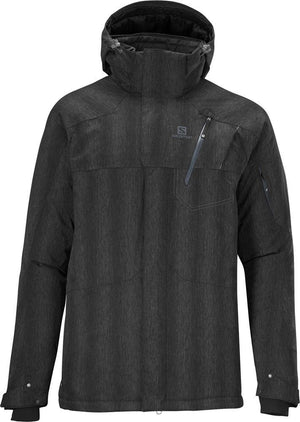 Salomon Zero winter Jacket Men - Waterproof, Powder skirt and removable hood