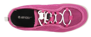 Hi-Tec Zuuk Womens Lightweight Shoe Mesh (Pink & White)