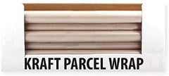 3Ace Crafts Brown Parcel/Kraft Wrap Paper Rolls - Ideal for Packing, Gift Wrapping, Parcels, Art, Craft, Postal, Floor Covering - Size Aprrox 8M x 50cm