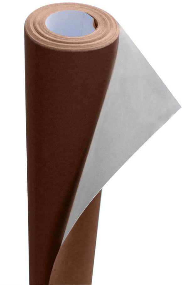 3Ace Crafts Display Poster Paper Roll 76cm x 10m - Paper Perfect Ideal for Gift Wrapping, Art and Craft, Packing, Schools, Classrooms, Party Decoration - Non-Toxic Display Paper (Chocolate Brown)