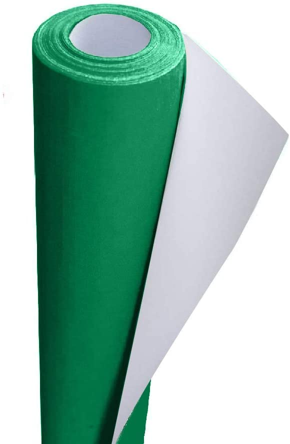 3Ace Crafts Card and Display Poster Paper Roll - 10 M - Paper Perfect Ideal for Wrapping, Craft, Packing, Floor Covering, Parcel, Table Runner School Notice Boards - 76cm Width Approx (Emerald)