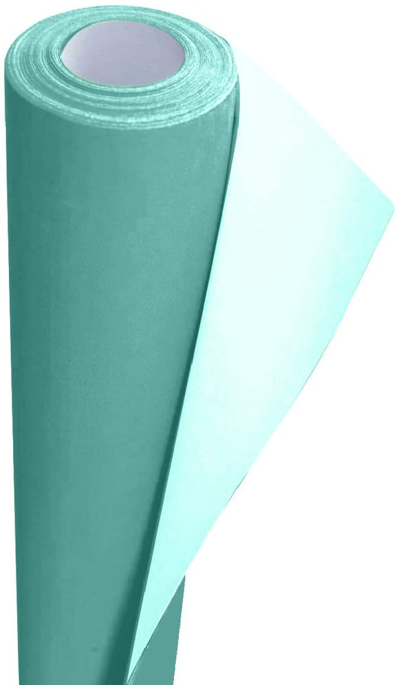 3Ace Crafts Card and Display Poster Paper Roll - 10 M - Paper Perfect Ideal for Wrapping, Craft, Packing, Floor Covering, Parcel, Table Runner School Notice Boards - 76cm Width Approx (Peppermint)