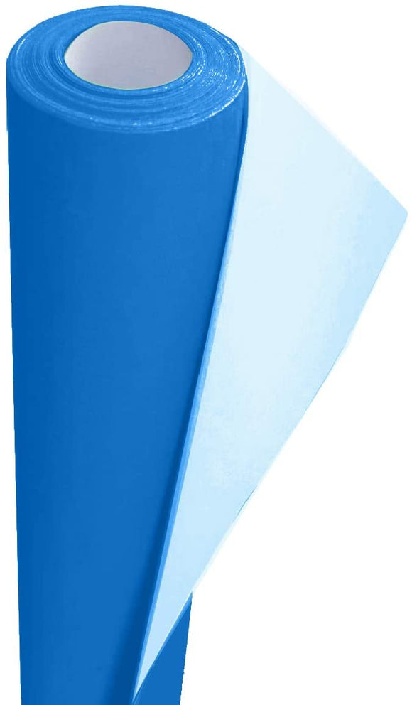 3Ace Crafts Card and Display Poster Paper Roll - 10 M - Paper Perfect Ideal for Wrapping, Craft, Packing, Floor Covering, Parcel, Table Runner School Notice Boards - 76cm Width Approx (Ultra Blue)