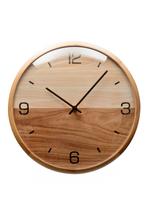 "Load image into Gallery viewer, Driini Analog Dome Glass Wall Clock - (10"")"