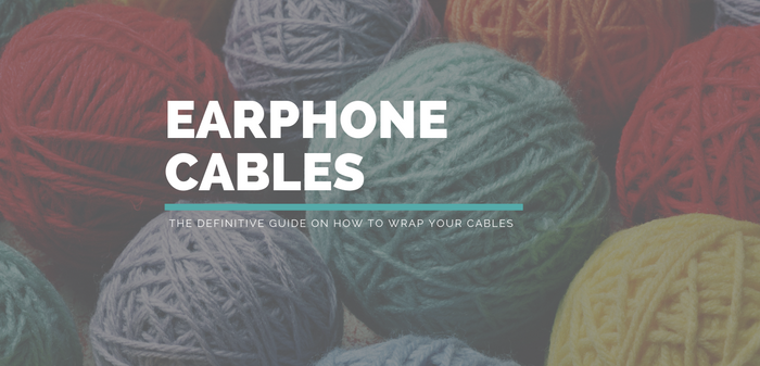 How To Wrap Your Headphone or Earphone Cables