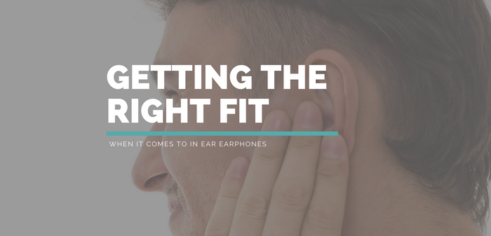Getting the right fit with earphones