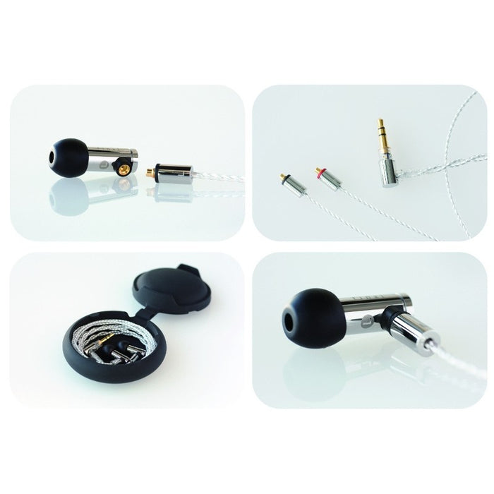 Final E5000 In Ear Isolating Earphones with Detachable Cable
