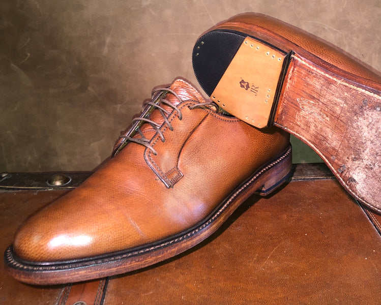 Florsheim Imperial Heel Replacement and Saphir Medaille D'Or Treatment