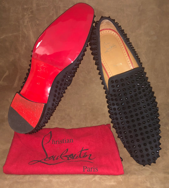 Mens Christian Louboutin Shoes get a new Mirror Gloss Protective Sole (Sole Guard)